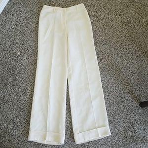 New York & Company cream dress pants